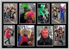 Düsseldorf - Karnevalssonntag auf der Kö - Impressionen 10