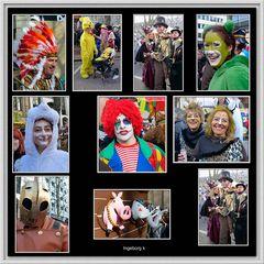 Düsseldorf - Karnevalssonntag auf der Kö - Impressionen 9