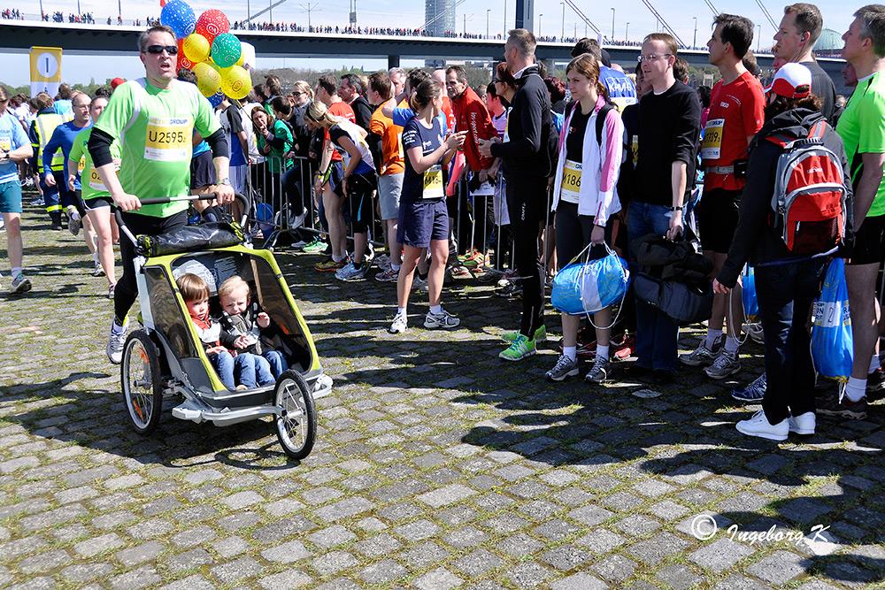 Düsseldorf - Marathon am 28.04.2013 - 18