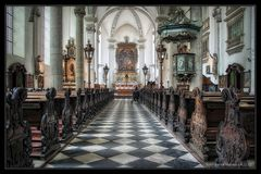 Düsseldorf Maxkirche .... Stille Andacht