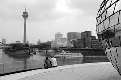 Düsseldorf Medien Hafen