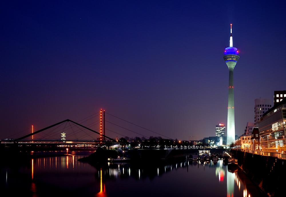 Düsseldorf Medienhafen @ Night