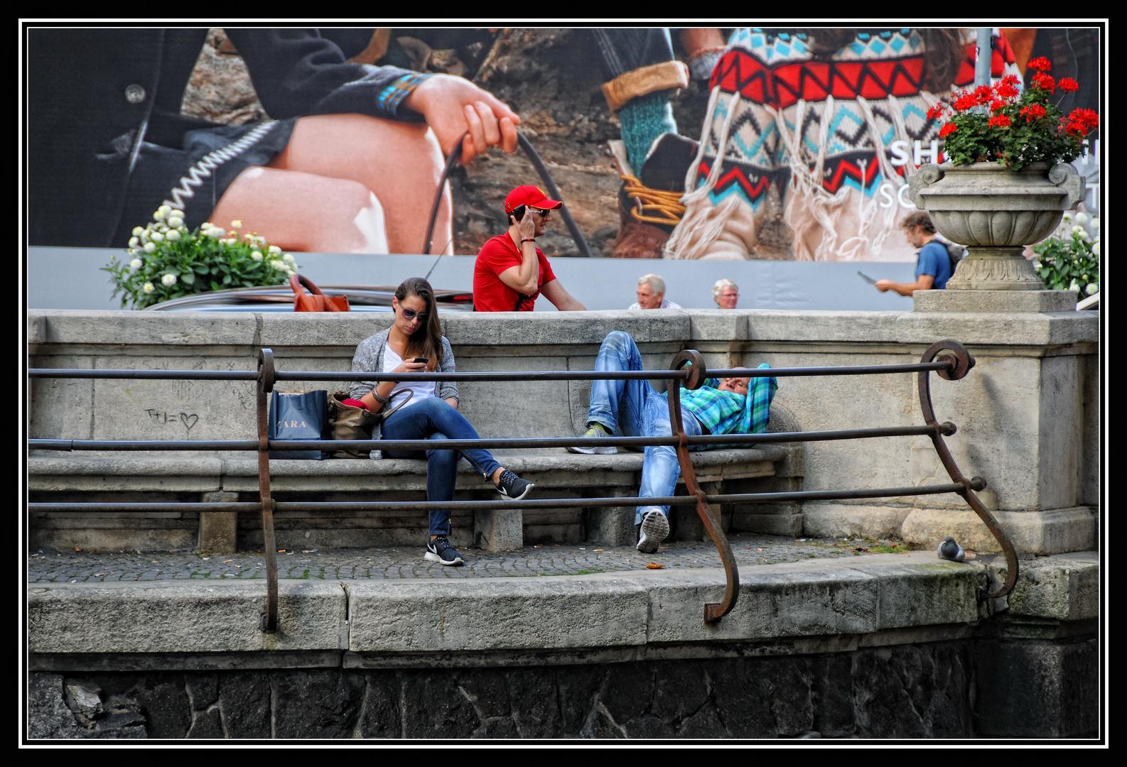 Düsseldorf - Relaxen am Kö-Graben