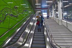 Düsseldorf - U-Bahn Treppe Graf-Adolf-Straße