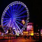 Düsseldorf - Weihnachtsmarkt -Riesenrad-am-Schloßturm