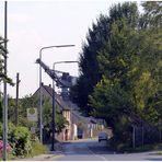 Düsseldorf - Wohnstraße im Wirtschaftshafen