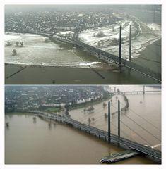 Düsseldorfer Hochwasser