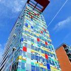 Düsseldorfer Medienhafen - Colorium (2001)