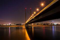 Düsseldorfer Rhein-Knie Brücke