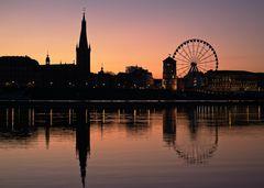 Düsseldorf_Sunrise