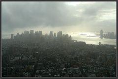 düstere Wolken...