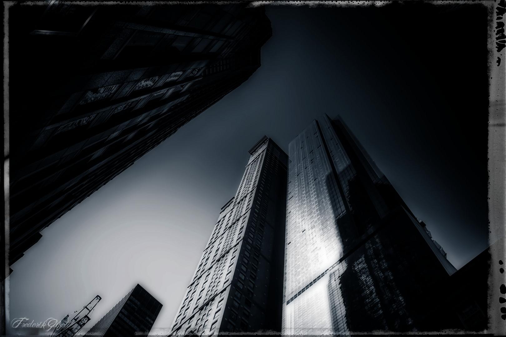 Düsteres Gotham City