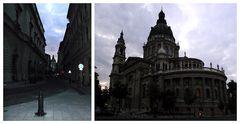 düsteres, unheimliches Budapest