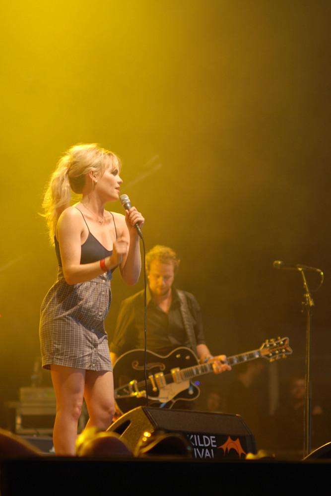 Duffy @ Roskilde-Festival ´08