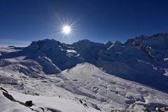 Dufourspitze - Höchster Berg der Schweiz