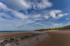 Dugort beach at low tide