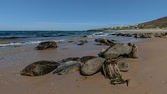 Dugort strand on a perfect day