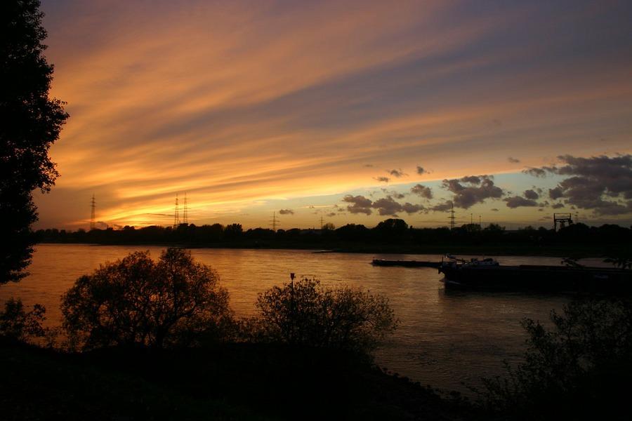 Duisburg am Abend...
