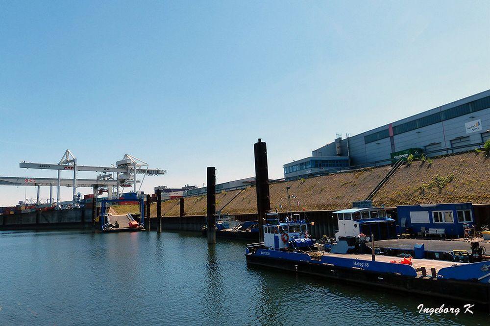 Duisburg - Binnenhafen - Anlegestelle