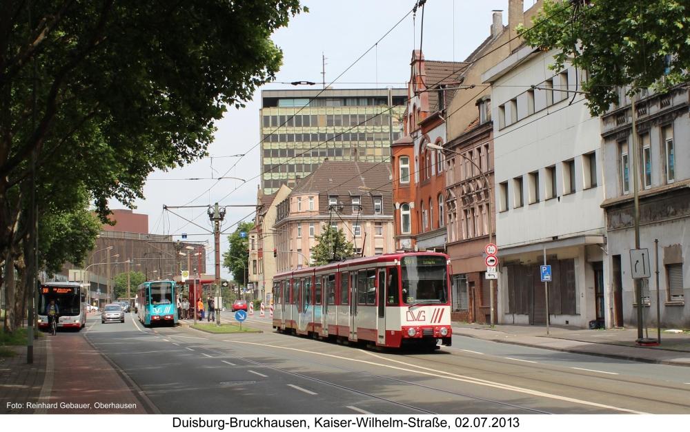 Duisburg-Bruckhausen, Kaiser-Wilhelm-Straße