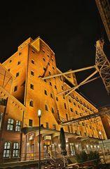 Duisburg Innenhafen - Teilansicht der Wehrhahnmühle