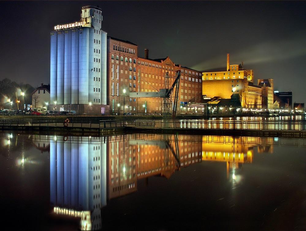 Duisburg Küppersmühle im Innenhafen