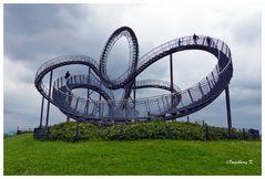 Duisburg - Landmarke Tiger & Turtle -