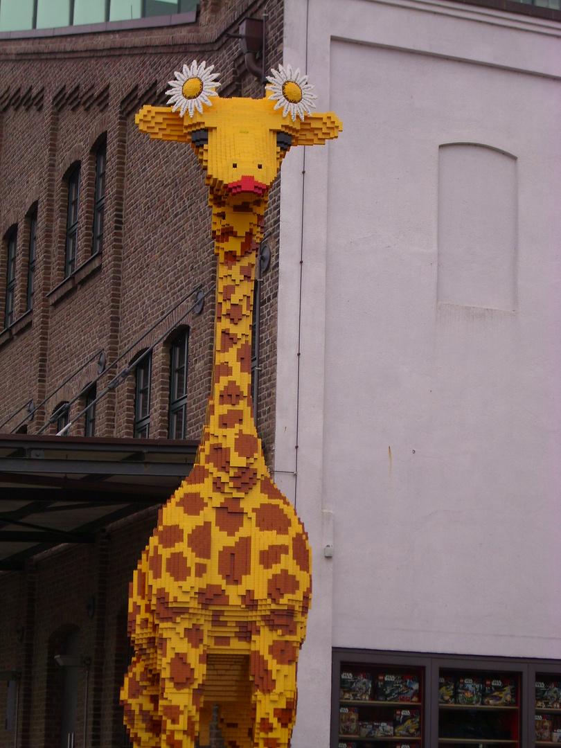 Duisburger Lego-Giraffe