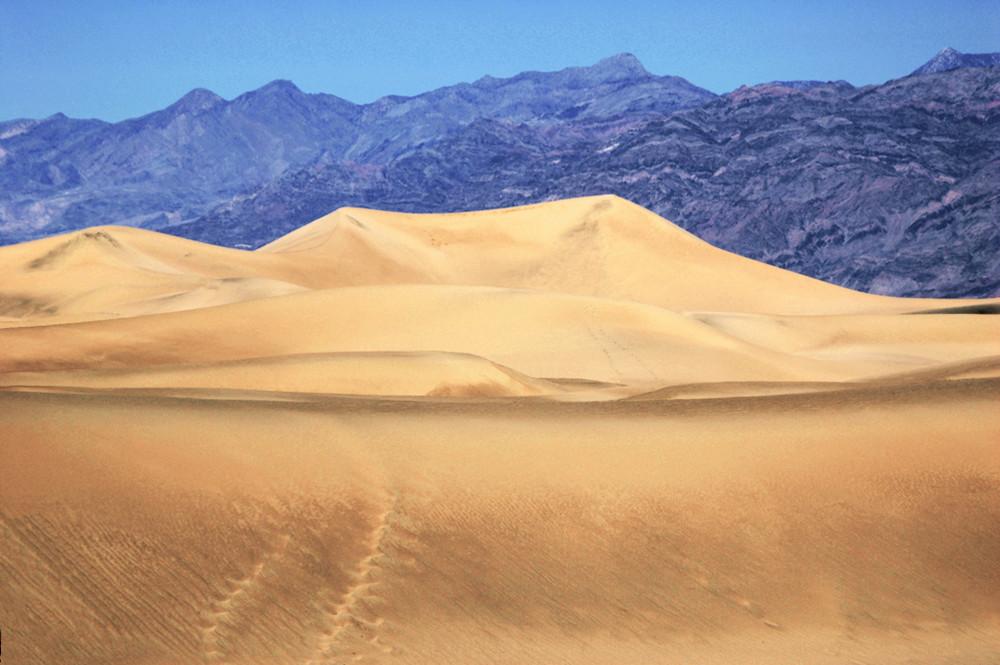 Dune in Death Valley