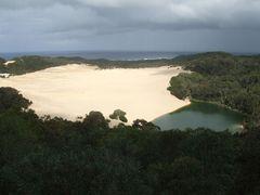 Dune - Lake Wabby auf Fraser Island