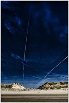 Dunes and sky (Netherlands)