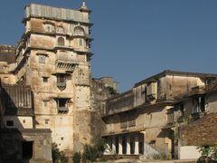 Dungarpur Juna Mahal von außen