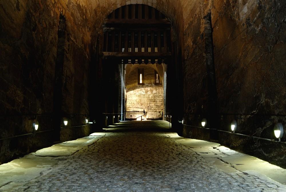 Dunkle Appareille in der Festung Königstein