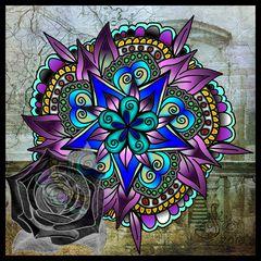 »dunkle rose«