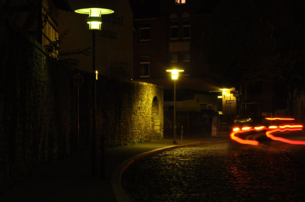 dunkle Turmstrasse