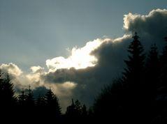 Dunkle Wolken