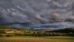 dunkle Wolken....