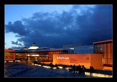 Dunkle Wolken über dem Forum