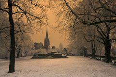 Dunkler Wintertag II