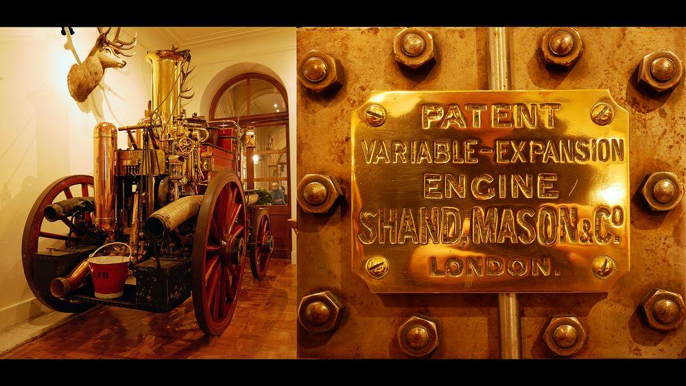 Dunrobin Castle Dampfmaschine