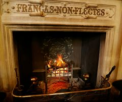 Dunrobin Castle Feuerstelle