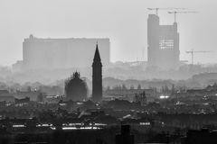 Dunst über der Stadt