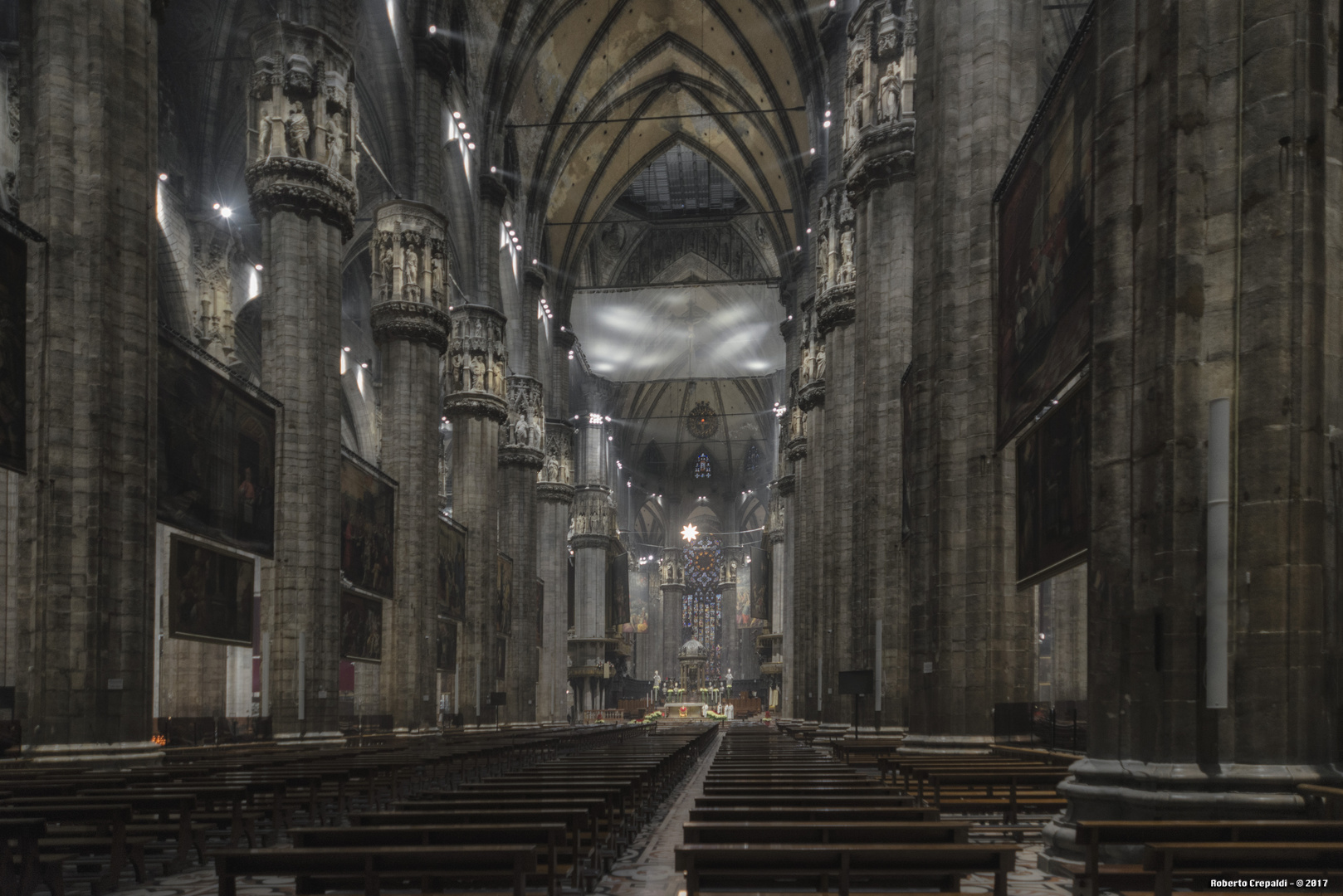 Duomo di Milano, navata centrale
