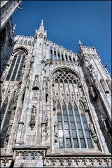 Duomo di Milano, particolare posteriore