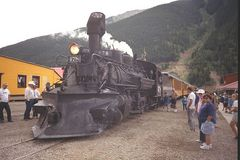 Durango & Silverton Narrow Gauge Train - Colorado