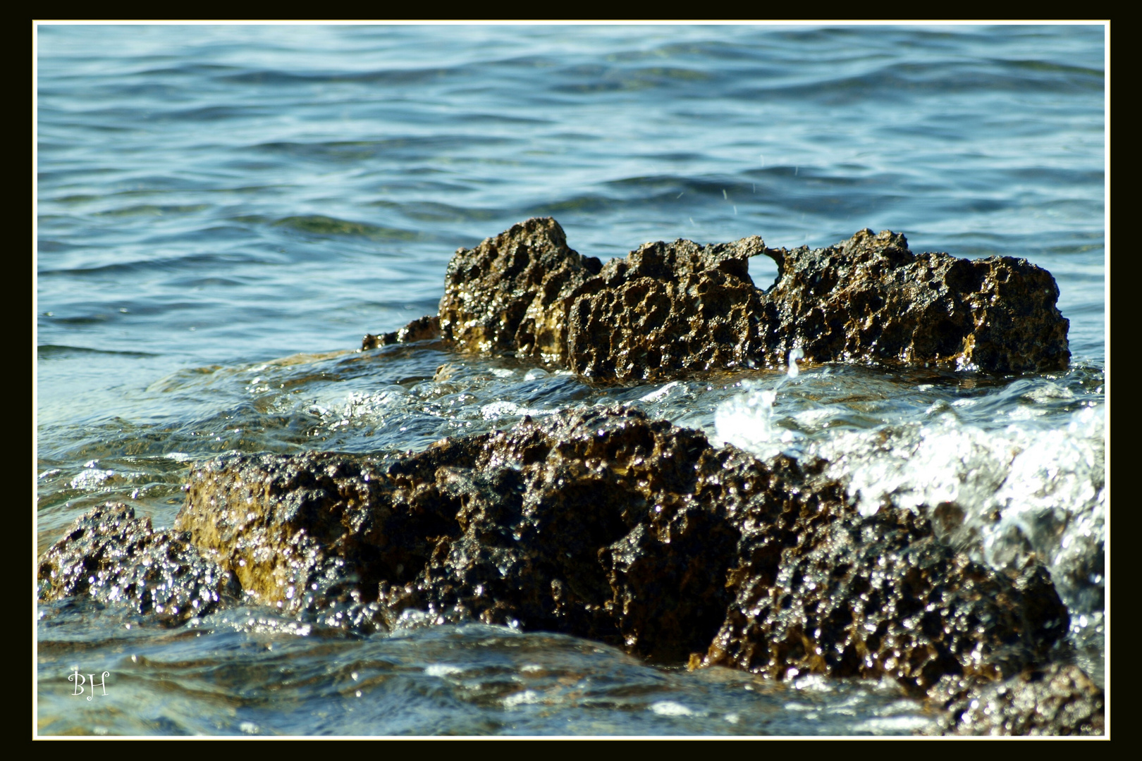 Durch das Meer geformt
