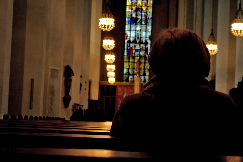 Durch den Glauben ist man nicht alleine