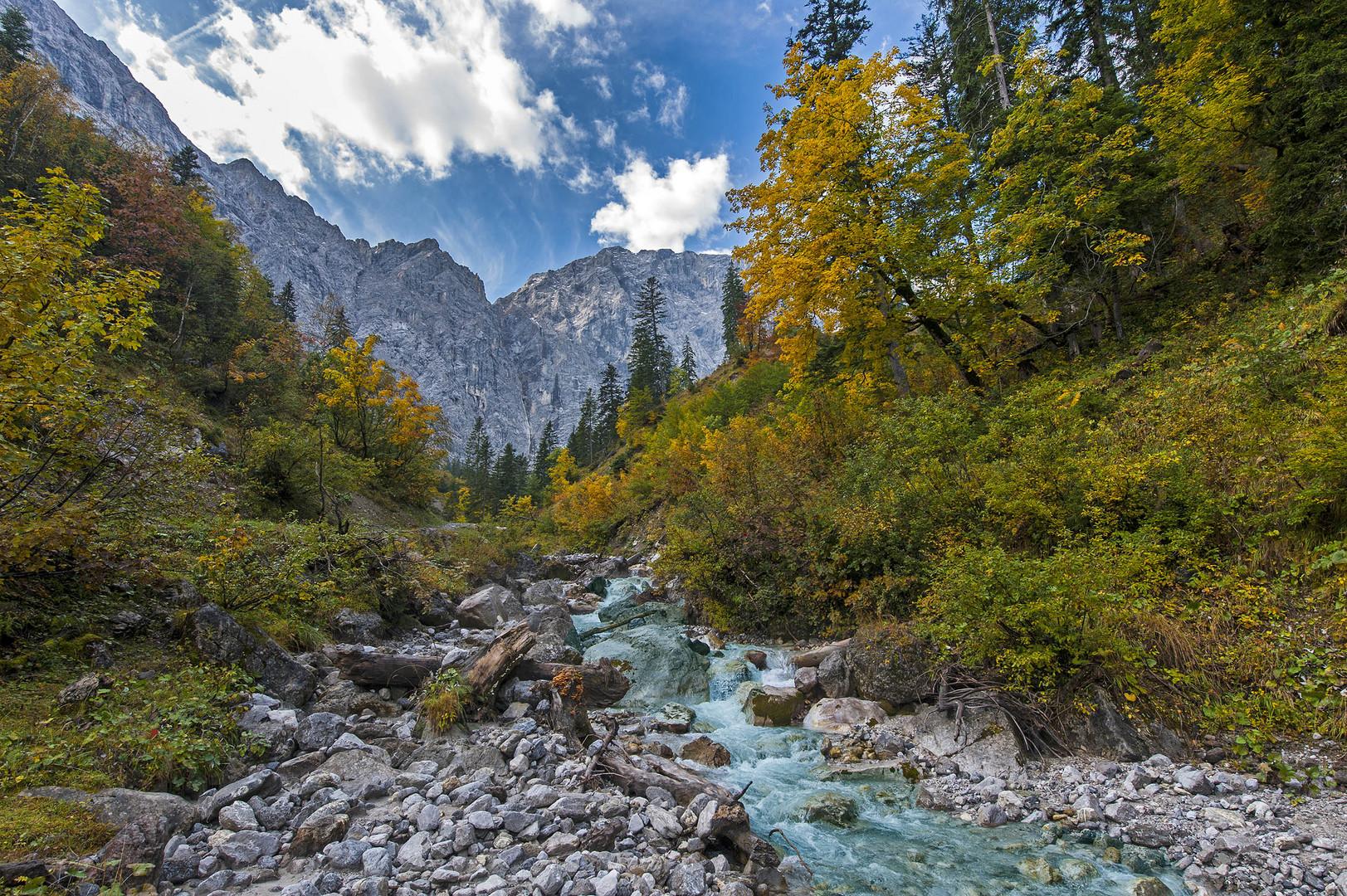 Durch die Eng - Ahornboden - Tirol