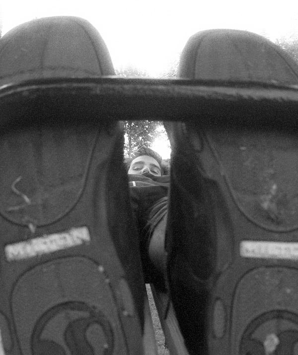 ...durch die füße betrachtet...
