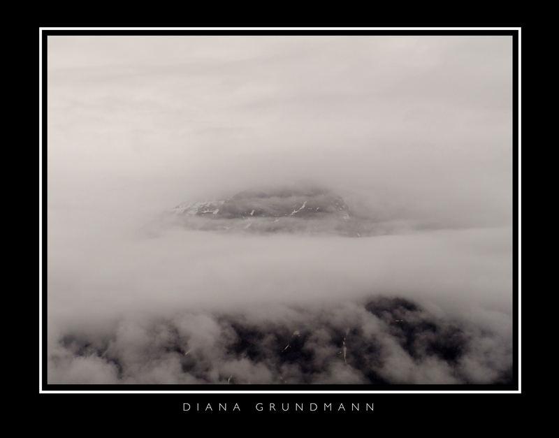 ...durch die Wolken...